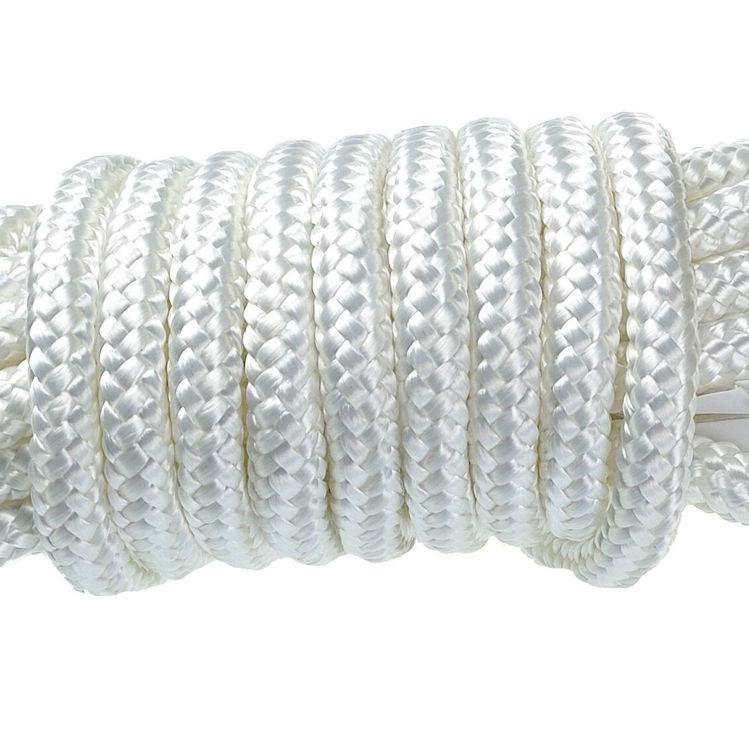 15 Meter Statisches Kletterseil Seil EN1891 für Seilbremse 12mm Fallschutz NEU