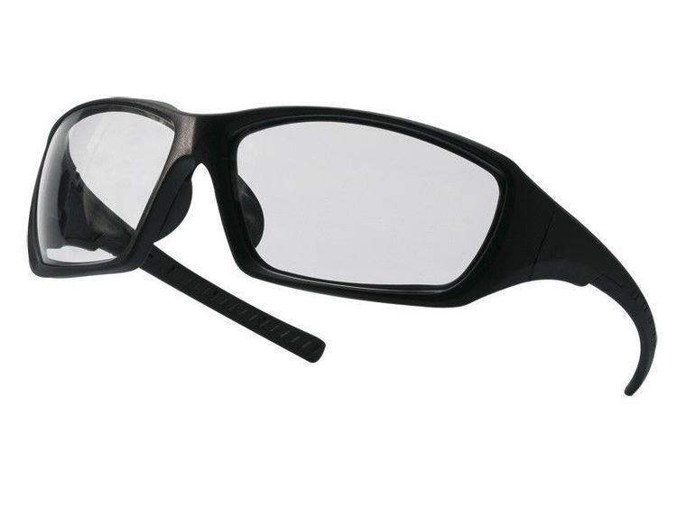 Rahmenlosen Gläsern Und Schwarzen Bügeln Liefern Schutzbrille Champ Mit Klaren Arbeitskleidung & -schutz Business & Industrie