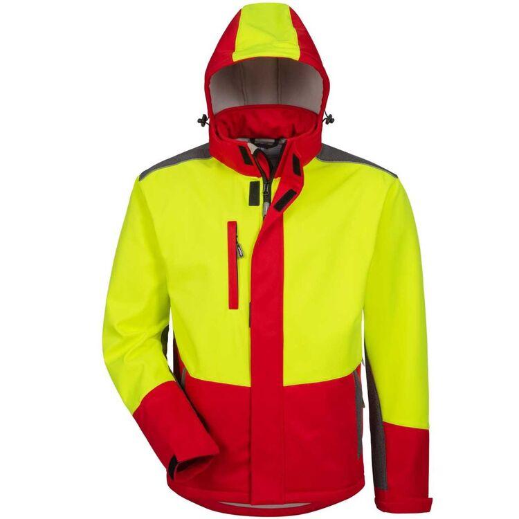 Details zu elysee® Waldarbeiter Softshelljacke Forstjacke Forstschutzjacke Arbeitsjacke