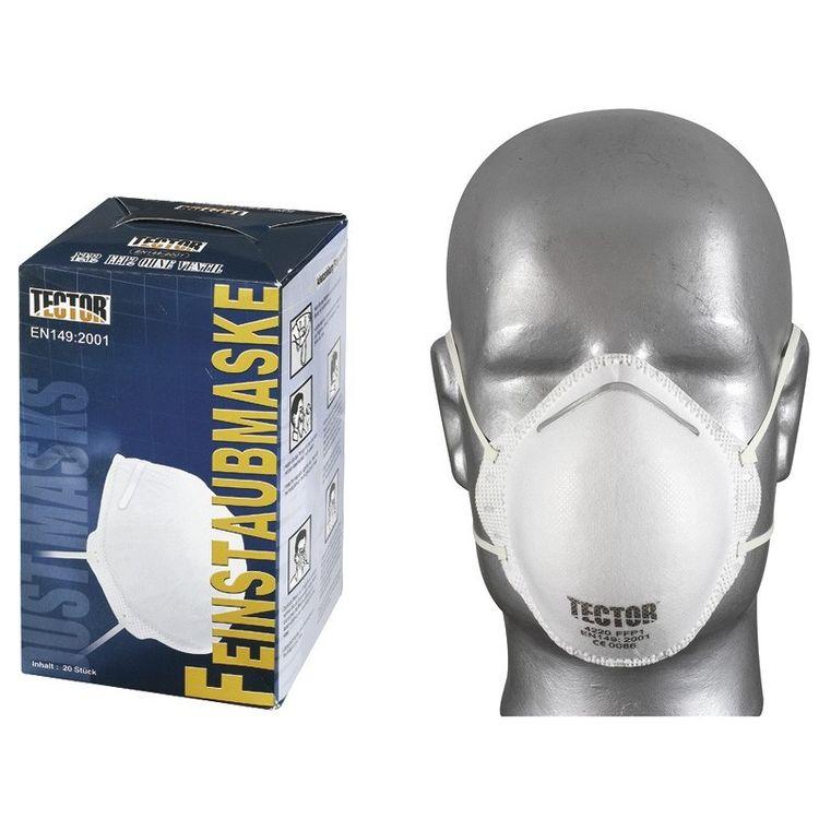 1-240 St Feinstaubmasken mit & ohne Ventil FFP1 FFP2 FFP3 ...