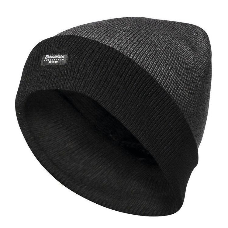 Elysee Wintermütze warme Mütze Strickmütze Thinsulate grau schwarz JULIAN NEU