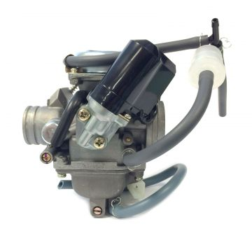 24.5mm SPORT VERGASER z.B GY6 125//150ccm CHINA ROLLER 4-TAKT 152QMI 157QMJ