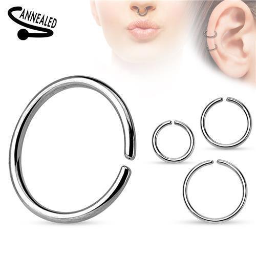 Nasenpiercing-Ring-Septum-Fake-Piercing-Nasenring-Tragus-Ohr-Helix-Lippen-Intim Indexbild 4
