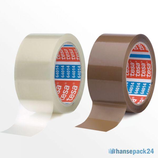 leise 6 R 0,03 Euro//m Acrylat Klebeband transparent 50 mm x 66 m 28 mµ Folie