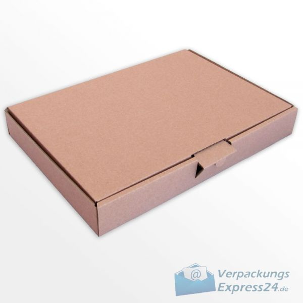 500x Maxibrief Kartons 350 x 250 x 50 mm Cardboard Box Pack Faltkarton braun