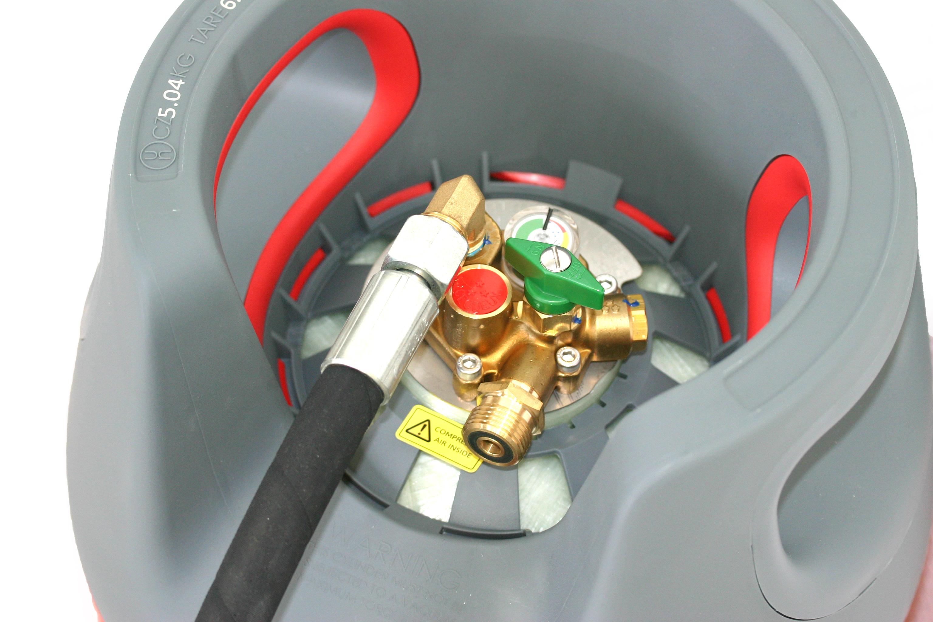 KOMPOSIT-Gasflasche-24-5L-wiederbefuellbar-mit-Multiventil-80-Fuellstop-AUTOGAS Indexbild 5