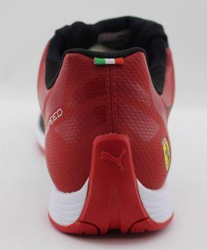 Puma evoSPEED Sock SF 305820 01 Herrenschuh Sneaker Scuderia Ferrari schwarz rot