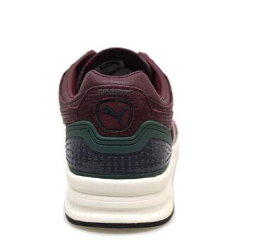 Détails sur Puma Trinomic XT2 + Crkl 357774 02 Chaussures Homme Baskets en Cuir Bordeaux