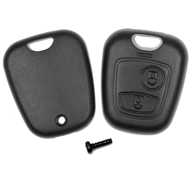 Batterie Funk Schlüssel Gehäuse NE73 für Peugeot 206 CC SW Autoschlüssel