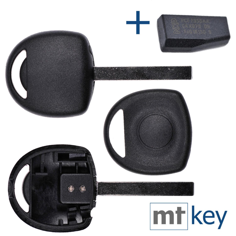 Auto Schlüssel Rohling HU46 ID40 Transponder für Opel Astra Combo Corsa Vectra