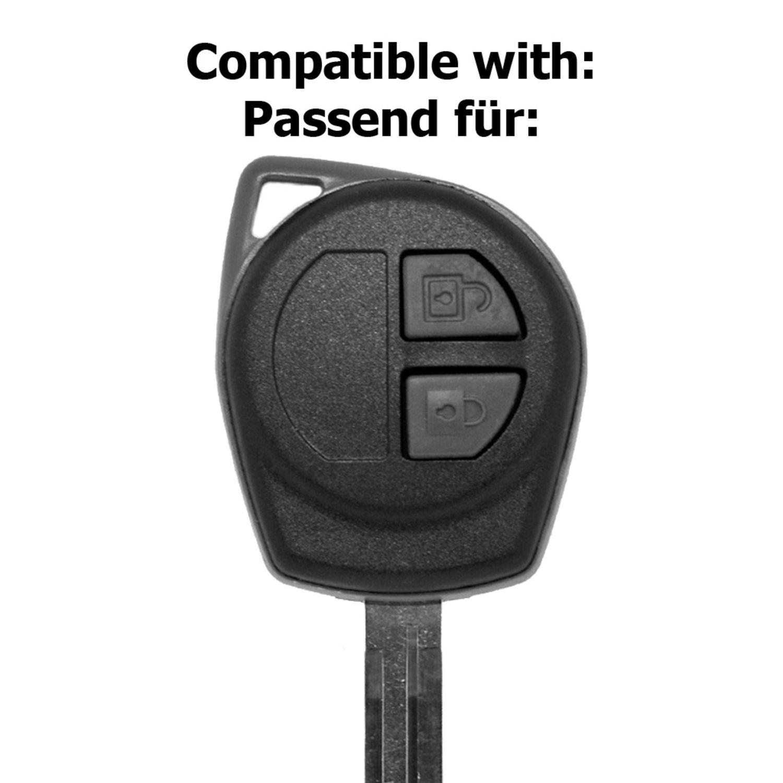 Auto Schlüssel Hülle Rosa Opel Agila B Nissan Pixo Suzuki Alto SX4 Swift Splash