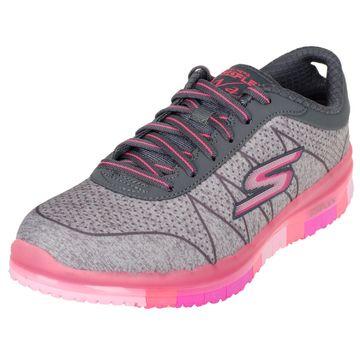 Skechers GO Flex Ability 14011 Damenschuhe Sneaker greyhot pink