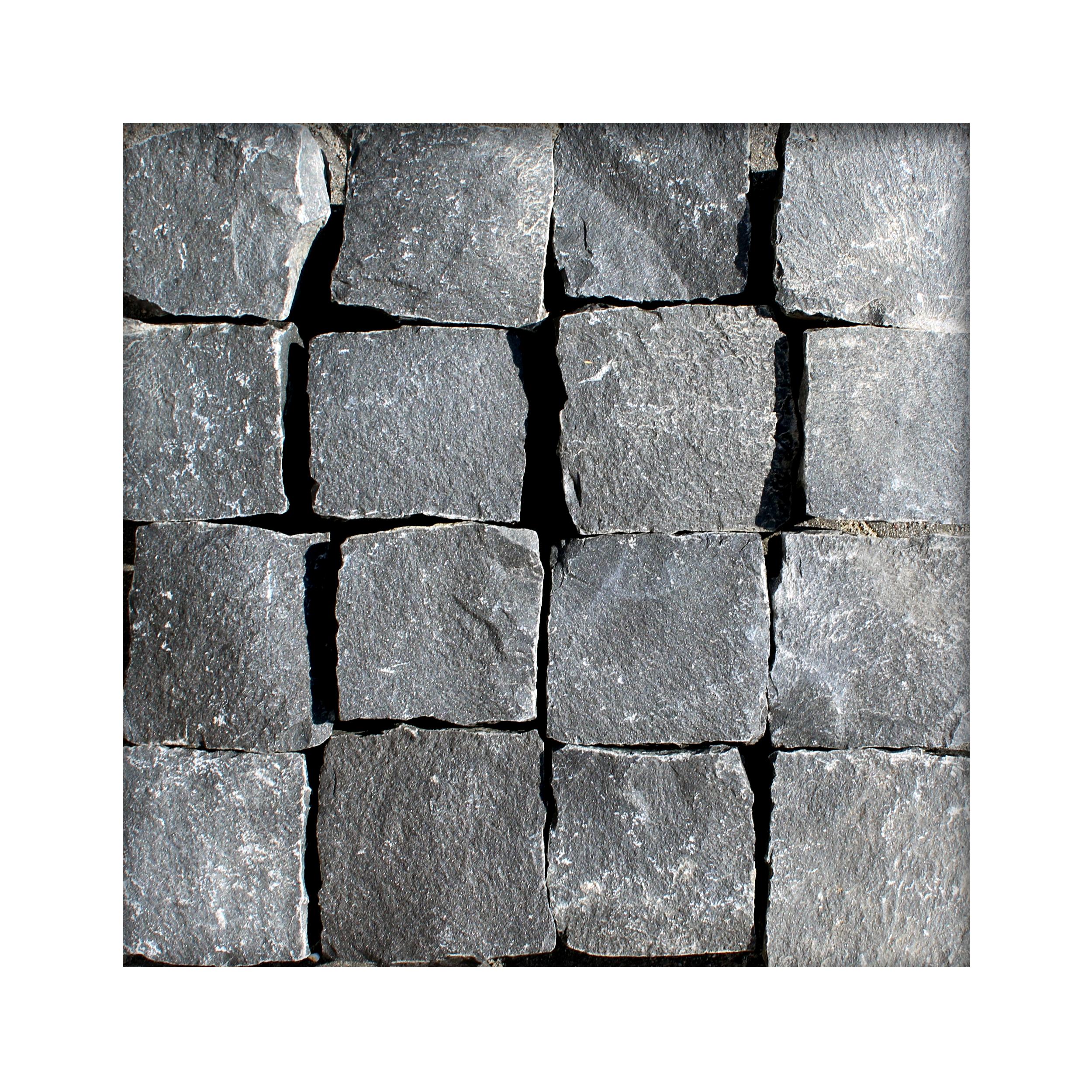 Basalt Pflaster 10 x10 x8-10 cm Basaltpflaster Pflasterstein Naturstein 170 €//m²