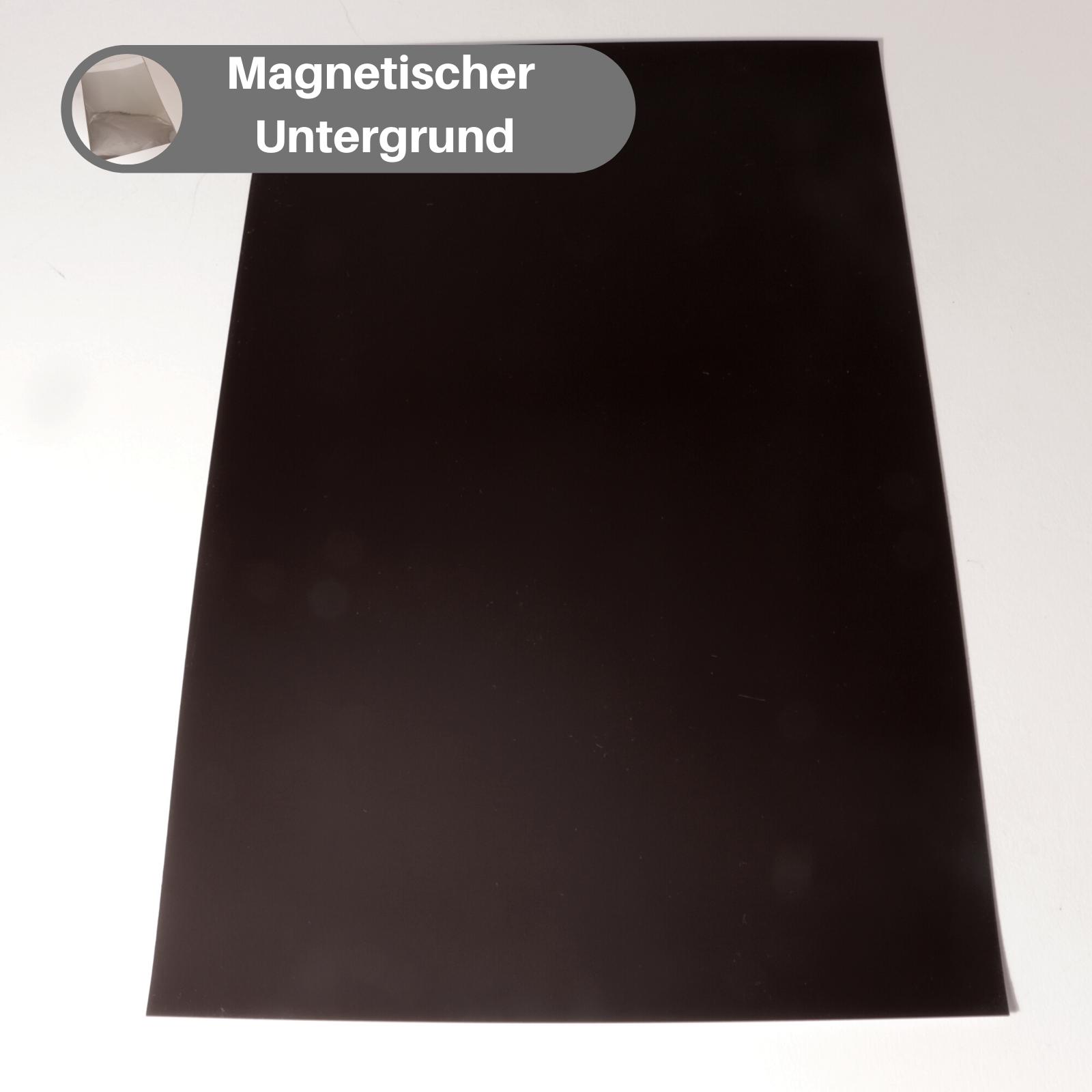 Magnetfolie Magnetband PVC Beschichtet Magnetschild Magnettafel Magnetbogen
