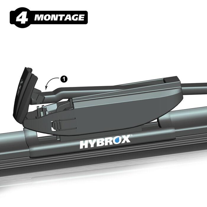 Ersatzwischblätter ULTRA-X221 HYBROX Scheibenwischer
