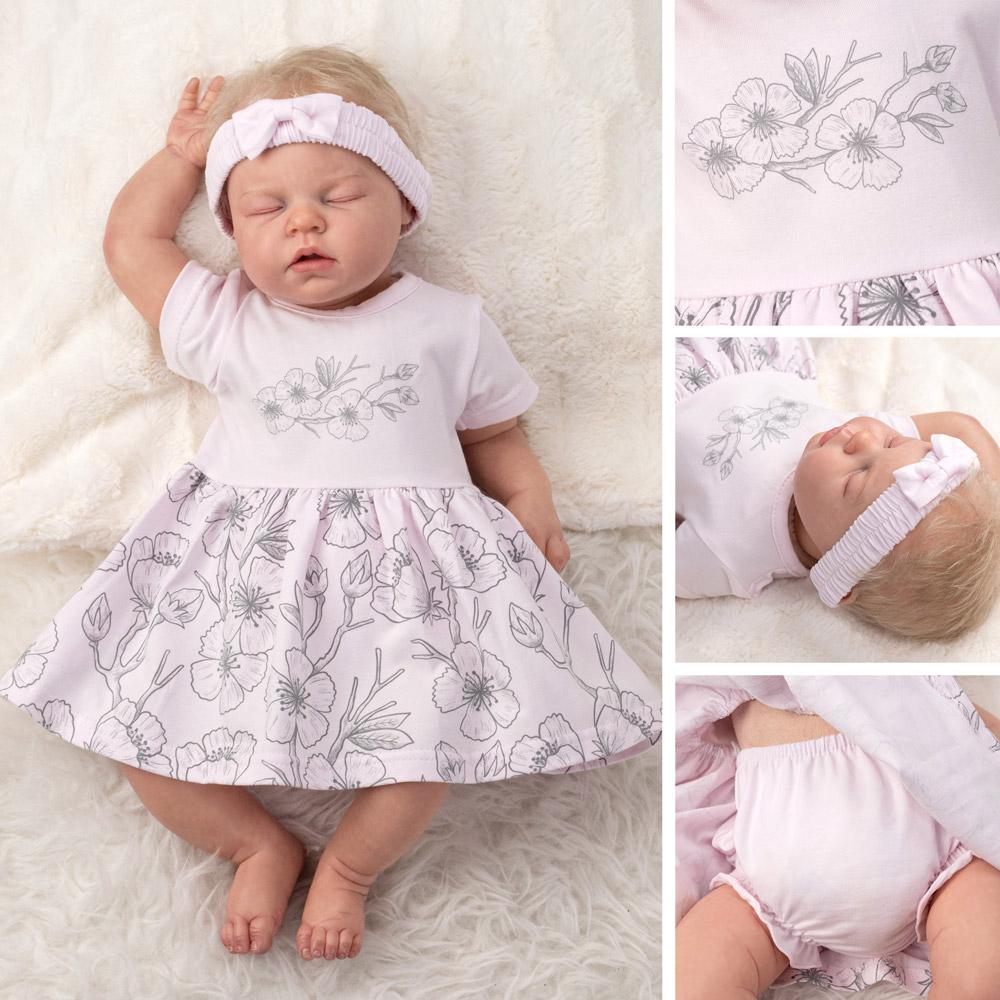 baby 3tlg kleider set mädchen kleidung outfit kleid sommer