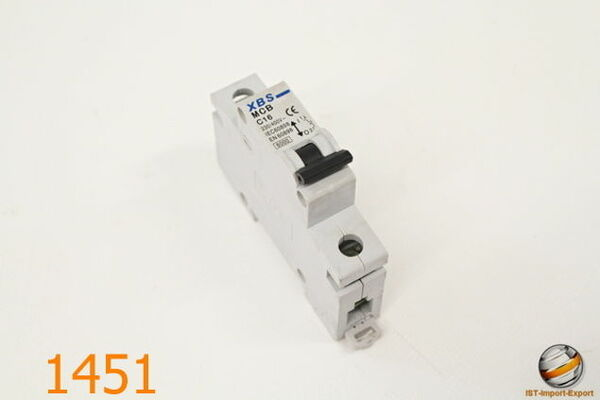 Sicherungsautomat Leitungsschutzschalter JVM 16-63 2P C10A