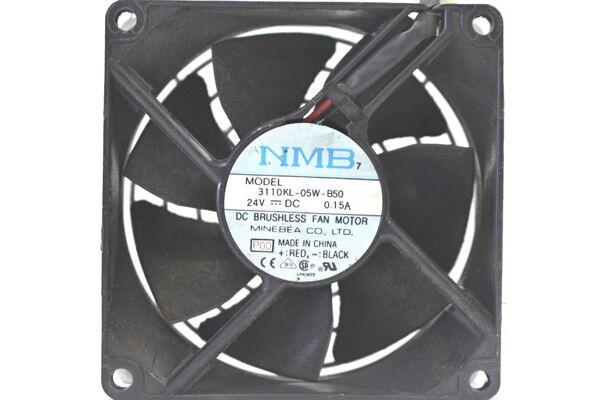 NMB 3110KL-05W-B50 fan 24V 0.15A 80*80*25mm 2pin #M2103 QL