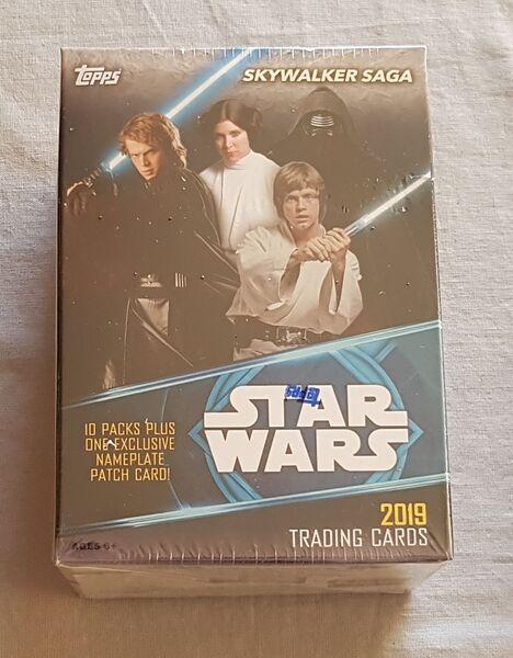 Topps 2019 Star Wars Skywalker Saga Value Box