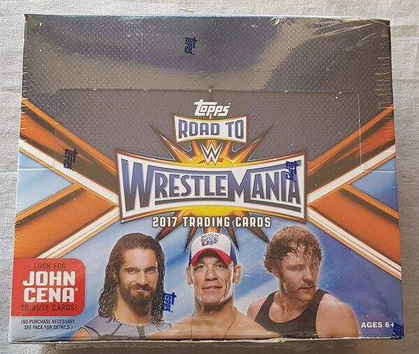 Topps WWE CHAMPIONS 2019 FULL Sealed BOX 24 Packets Of TRADING CARDS New