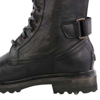 MATCHLESS Damen Leder Stiefel ANDREWS BOOT Antique Black 142015 S