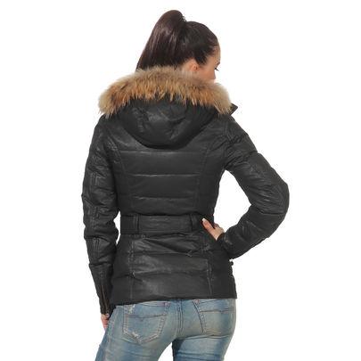 Details zu MATCHLESS Damen Daunen Winter Jacke HAMPSTEAD Black 120008 Gr. (38) XXS