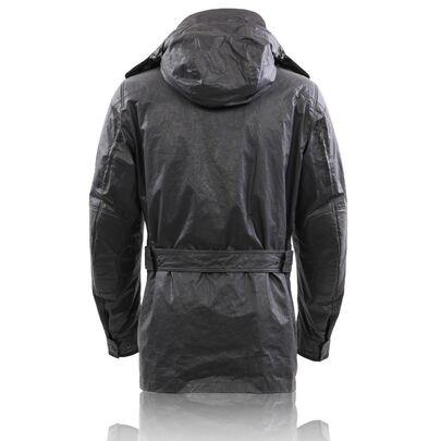 Details zu MATCHLESS Herren Winter Wax Jacke NOTTING HILL Black 110010 Größe L