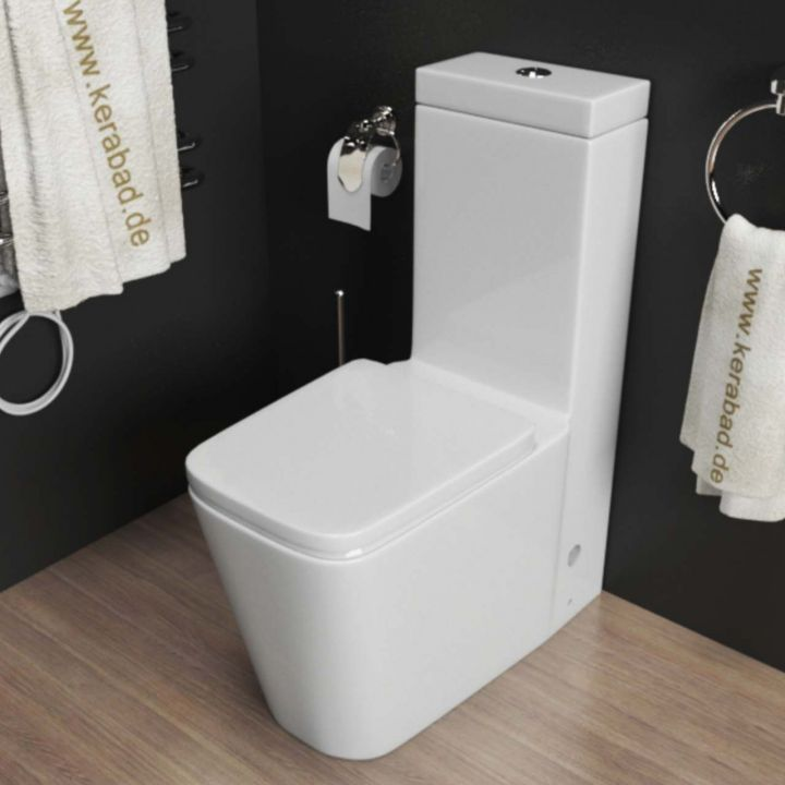 design stand wc kombination toilette inkl sp lkasten wc sitz softclose kb370 ebay. Black Bedroom Furniture Sets. Home Design Ideas