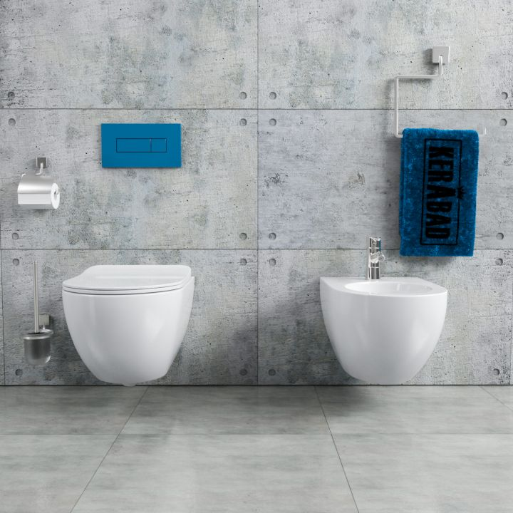 randloses design wand h nge wc inkl wc sitz. Black Bedroom Furniture Sets. Home Design Ideas