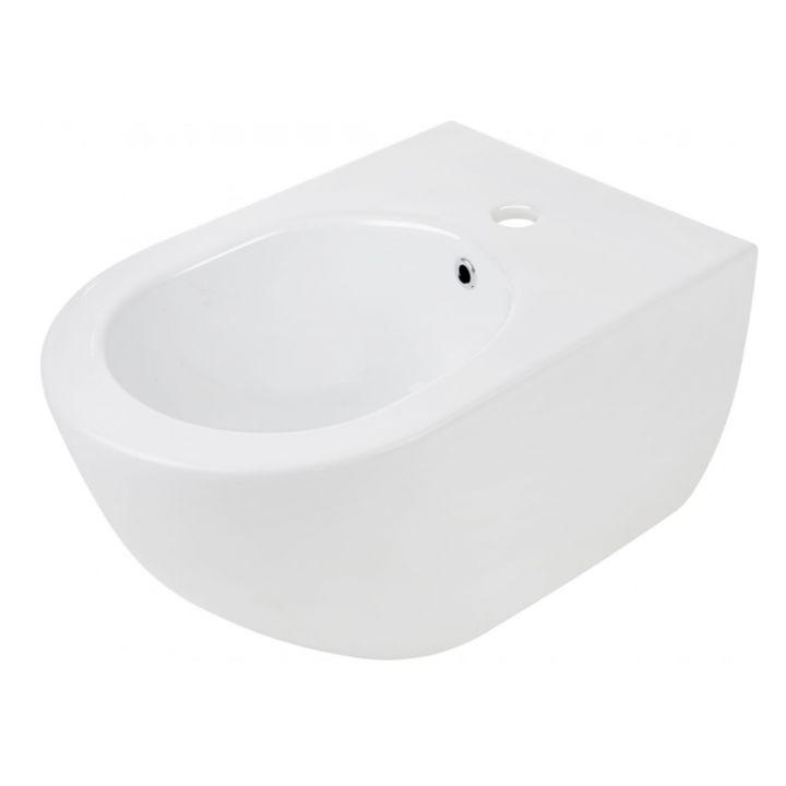 randlose design wand h nge wc wand bidet inkl wc sitz set sp lrandlos ebay. Black Bedroom Furniture Sets. Home Design Ideas