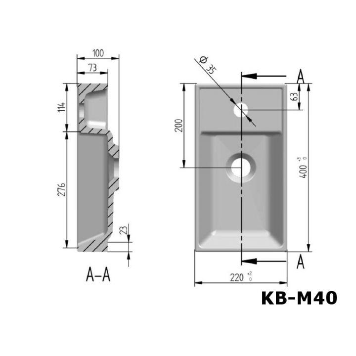 mineralguss waschbecken waschtisch aufsatzwaschbecken einbauwaschbecken serie m ebay. Black Bedroom Furniture Sets. Home Design Ideas