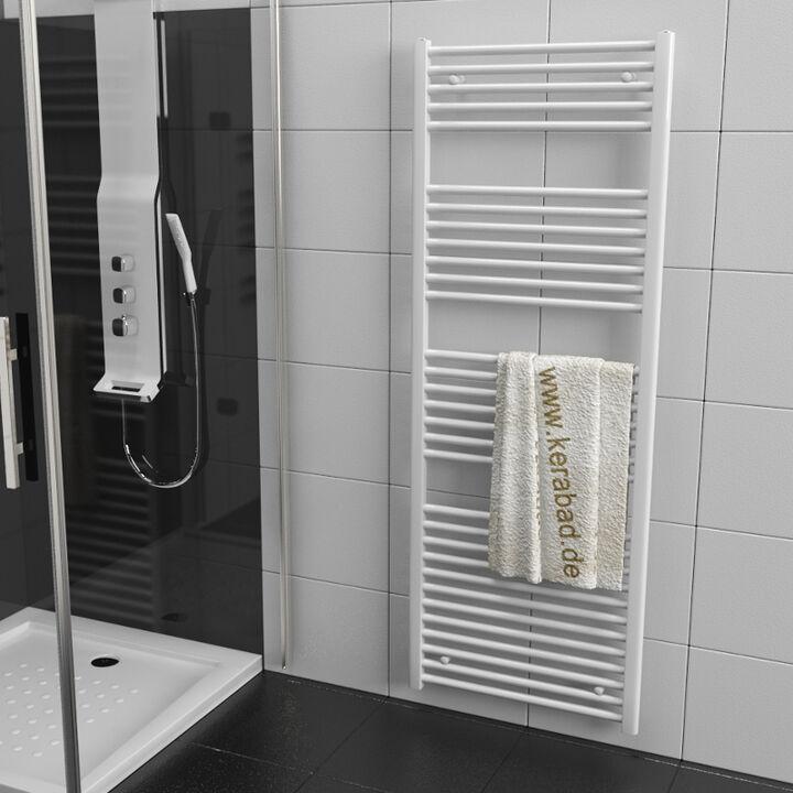 Badheizkörper  Heizkörper Handtuchheizkörper Mittellanschluss 600x1400mm