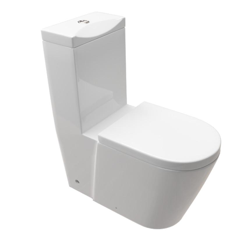 Fabulous DESIGN STAND WC-KOMBINATION Toilette inkl. Spülkasten und WC Sitz HG42