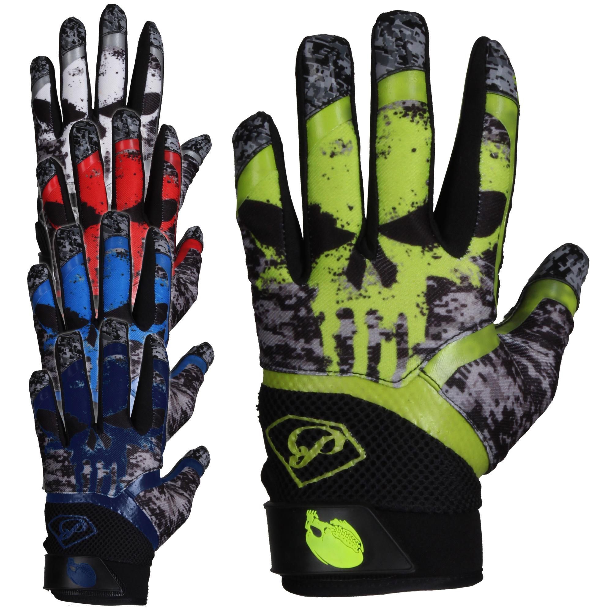 3 Force Full Football Football Titanium American Full Gloves