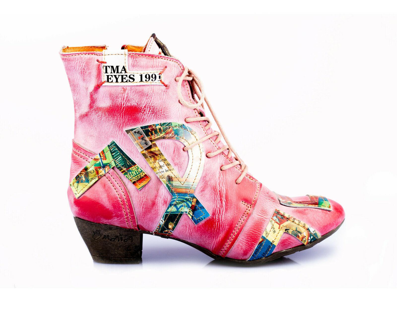 6171 TMA Modische 36 42 Größen alle rot Schuhe Leder