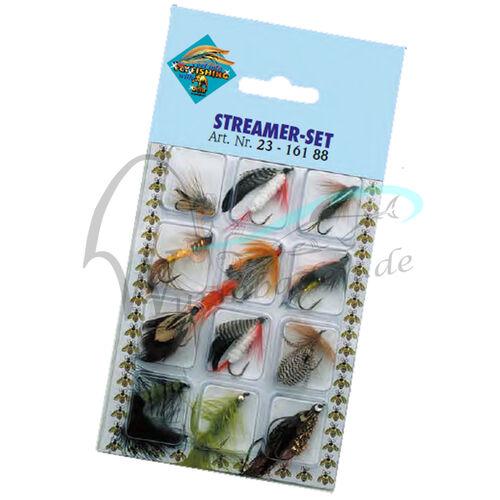 Fliegen Trockenfliegen Fliegenset Forellenfliegen Forellen Fliegenfischen