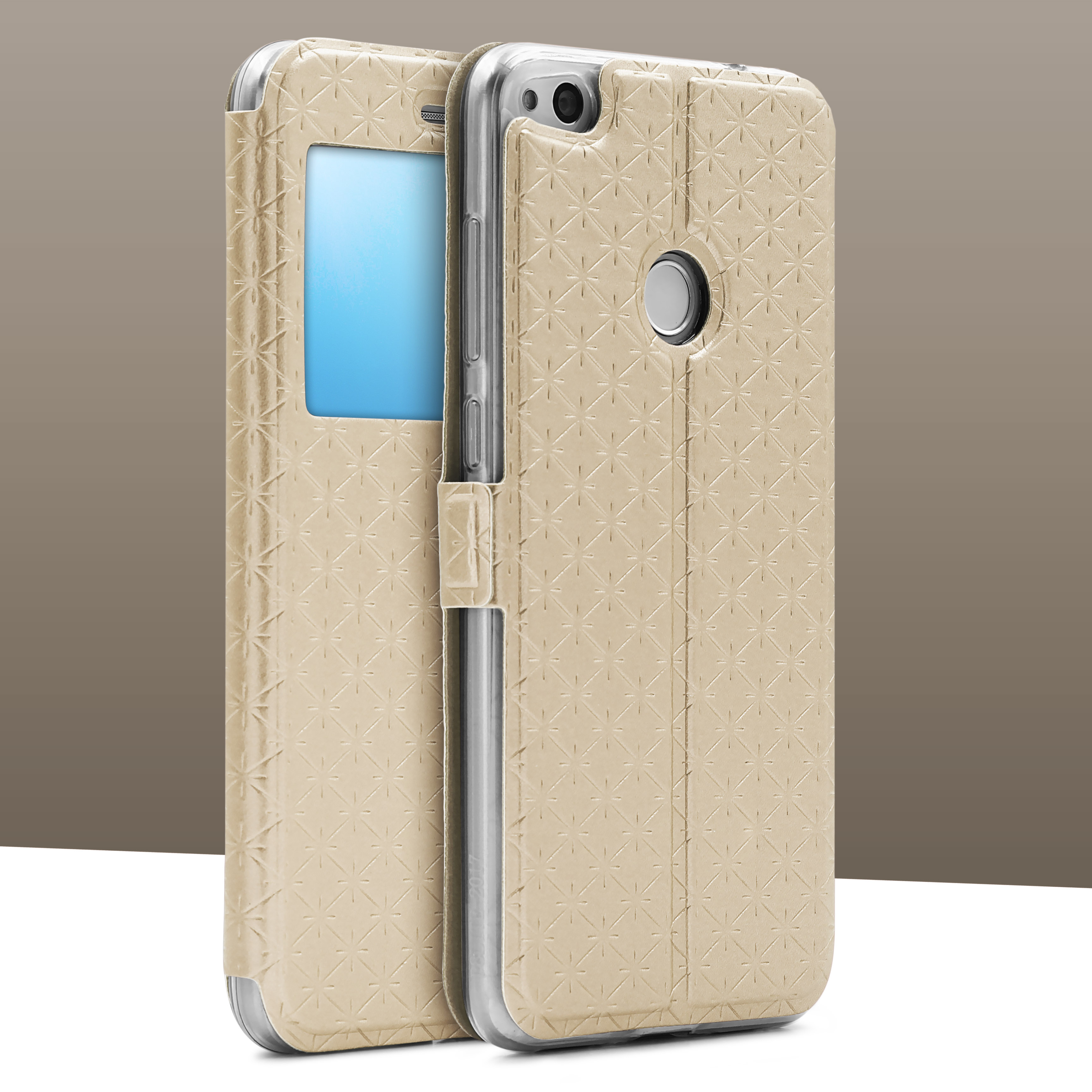 Urcover-for-Apple-Samsung-Sony-Huawei-Smart-View-Case-Flip-Wallet-Stand-Cover thumbnail 19