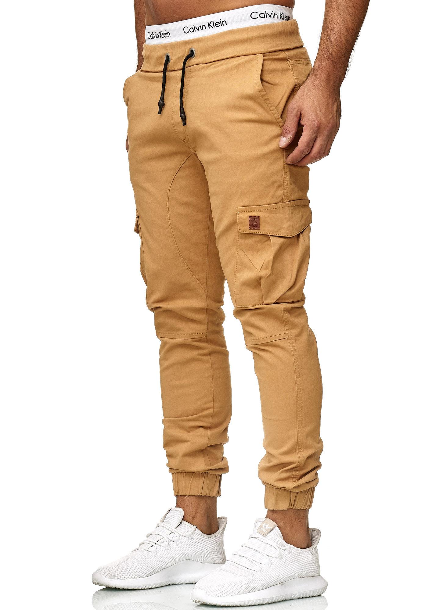 Details zu Herren Chino Hose Jeans Designer Chinohose Slim Fit Männer Skinny 3301CS