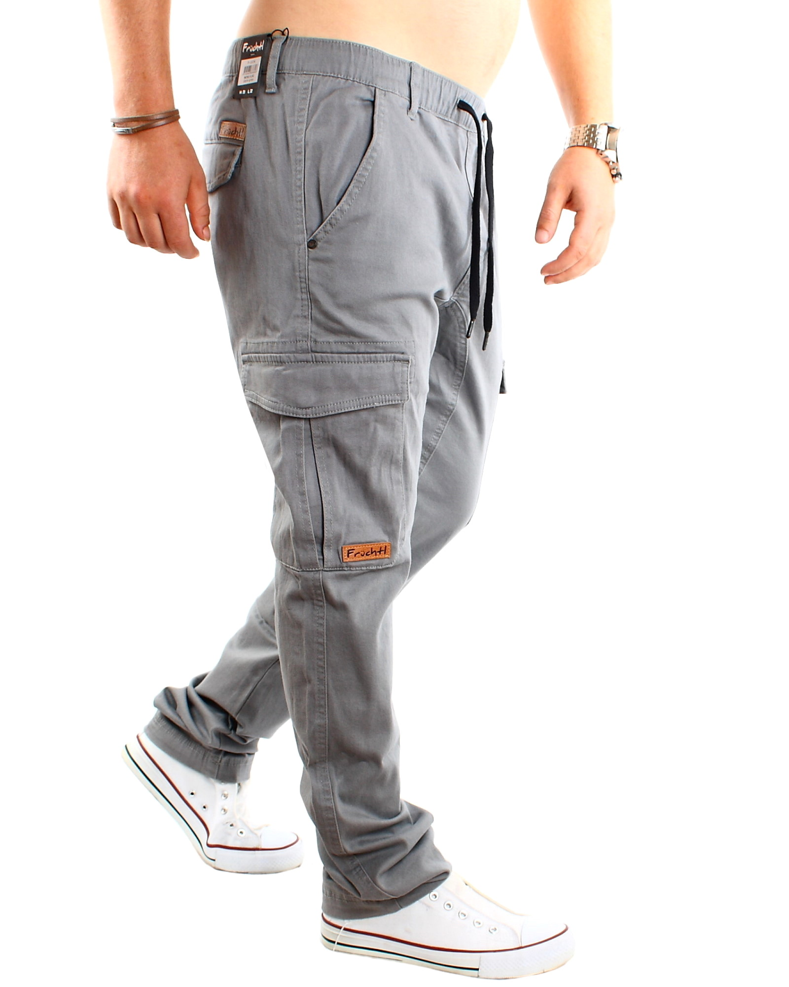 Herren Camouflage Cargohose Chino Hose Jogger Jeans Jogginghose Stretch Pants DE