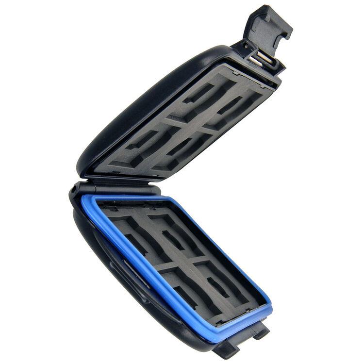 F/ür 8 SD und 8 MicroSD Karten Sicher transportieren und aufbewahren Wasserdicht Sto/ßfest Impulsfoto JJC Speicherkartenetui Schutzbox