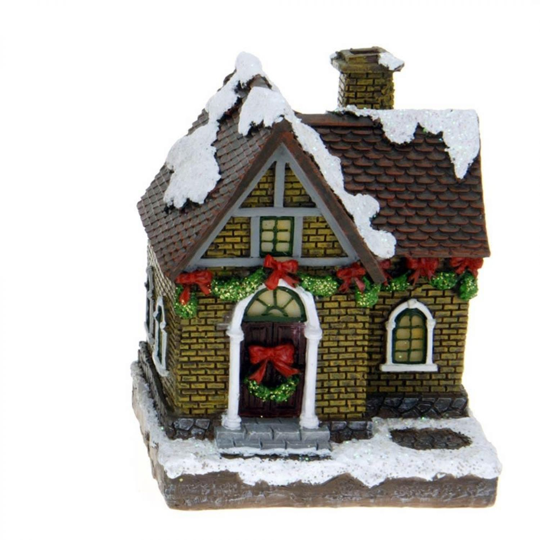 toci beleuchtete weihnachtsstadt winter weihnachtsdorf 5. Black Bedroom Furniture Sets. Home Design Ideas