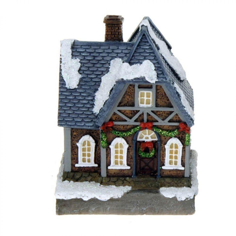 Weihnachtsdeko Häuser Beleuchtet