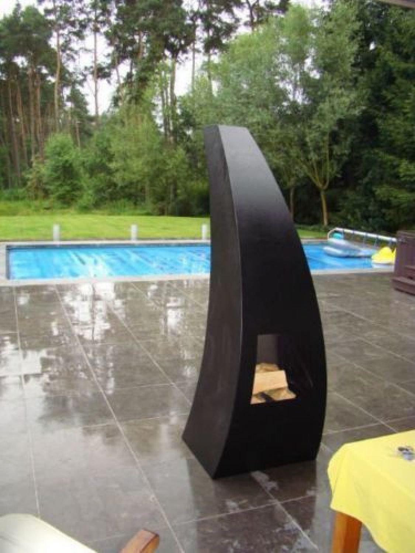 maca black garten-feuer terrassen-feuer feuerstelle terrassen-ofen