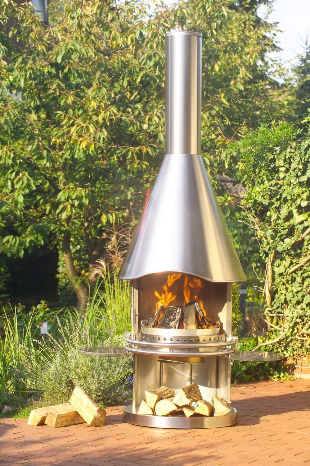 Bbq Smoker Grill Edelstahlgrill Feuerstelle Gartenkamin Bbq Von