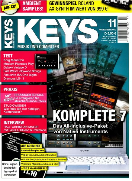 Details about Komplete 7 Native Instruments in Test - Keys DVD with Loops  Samples Workshops