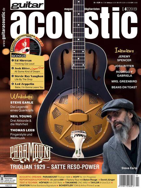 Details about Steve Earle Interview Thomas Leeb Workshop Test Paramount  Triolian 1929 Acoustic
