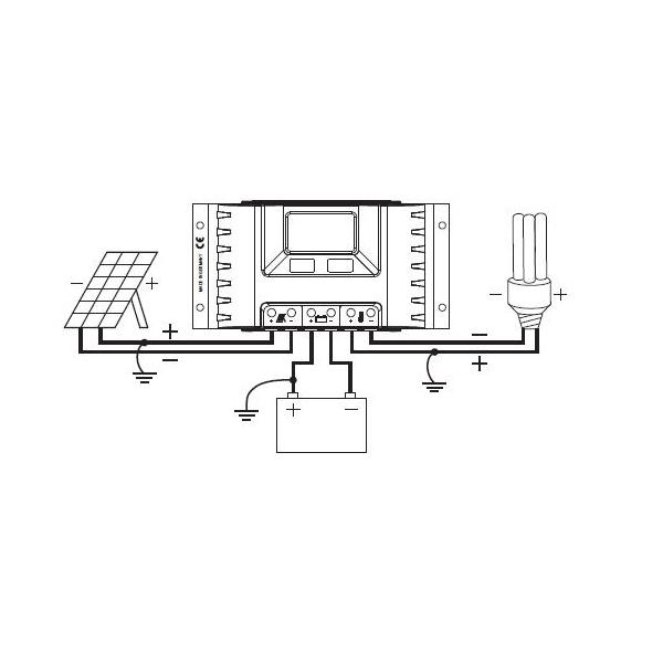 steca pr 3030 12v 24v laderegler 30a solar regler. Black Bedroom Furniture Sets. Home Design Ideas