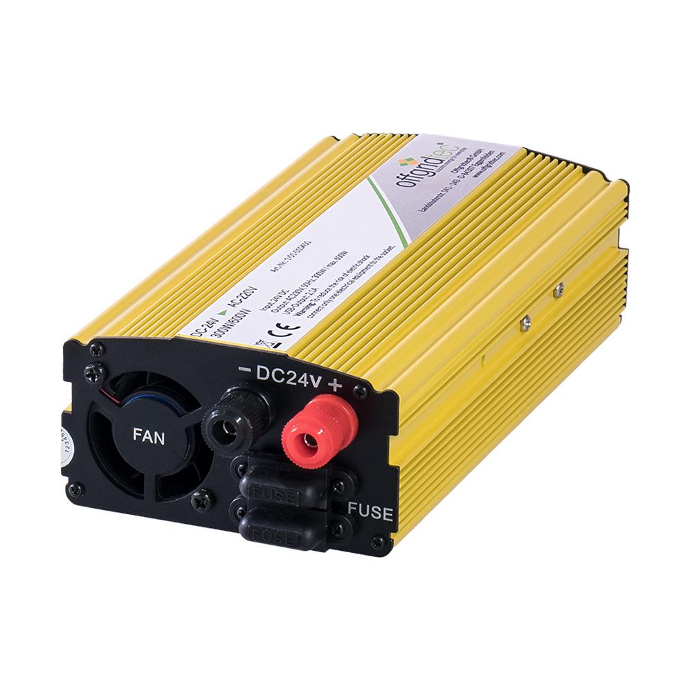 Offgridtec® HP24-1000 24V 230V 1000W 2000W Sinus Spannungswandler USB 2,1A