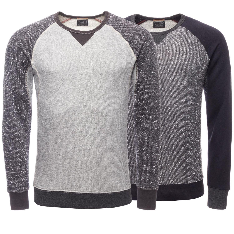 e3093bb64cd7f3 Jack   Jones Herren Sweatshirt Slim Fit Pullover Raglan Grau ...