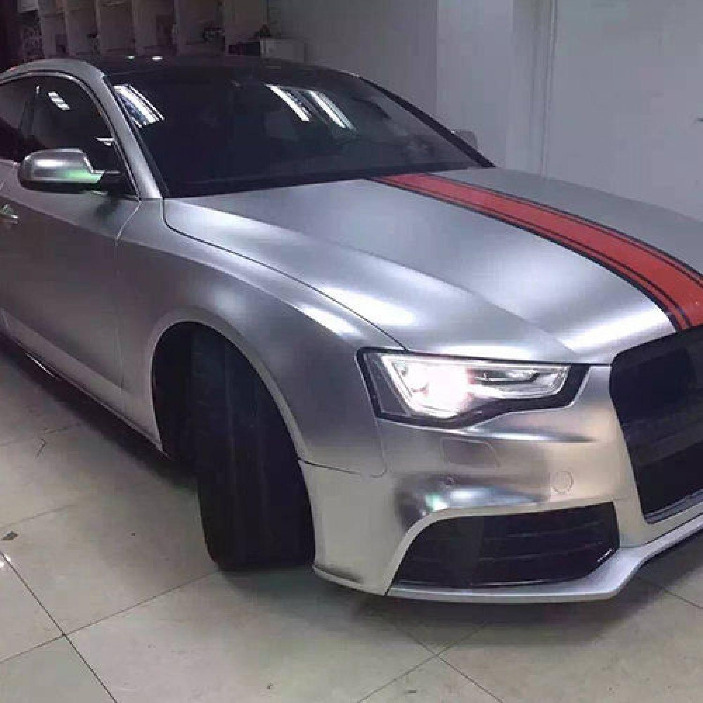 Car Wrapping Folie 24,87Euro//qm silver 50cm X 152cm metallic silber